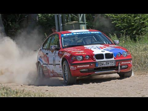 [ONBOARD] 7. ADAC Rosenhof Rallyesprint - 2018 - Alexander Brase - Sarah Nolte - BMW E46 318ti