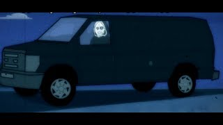 [RUS]Slender Man vs. Unwanted House Guest - ANIMEME RAP BATTLES (NSFW)