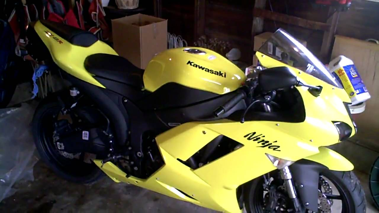 2008 Kawasaki Ninja Zx6r Specs And Walkaround Hd Youtube