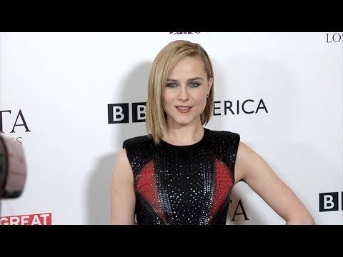 Evan Rachel Wood 2017 BAFTA LA TV Tea Party Red Carpet