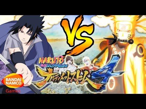 Naruto Ultimate Ninja Storm 4 Rinnegan Sasuke Vs Rikudou Naruto Ps4 2015 Revealed Youtube