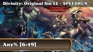 Speedrun - Divinity: Original Sin Enhanced Edition / Any% (6:49)