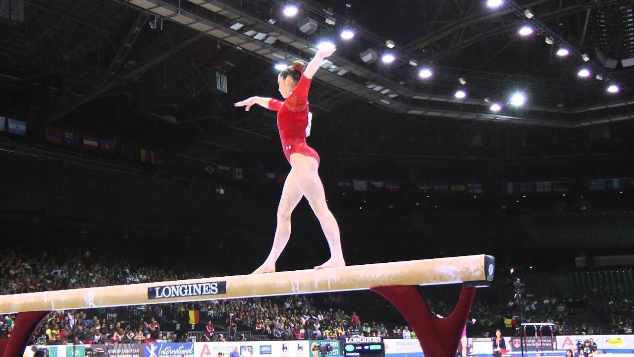 vault gymnastics gif. McKayla Maroney - Beam 2013 World Championships Qualification YouTube Vault Gymnastics Gif