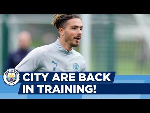 Shooting Practice! | Man City Training | Pre-Burnley