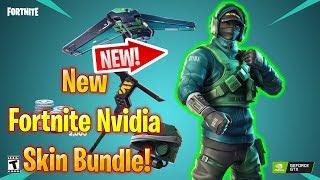 New Fortnite Nvidia Skin Bundle!