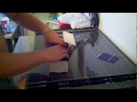 How to build a 60 watt solar panel for under $50 Part 1