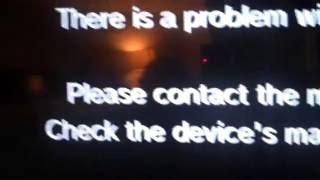 Wii U Error Code 160-4711