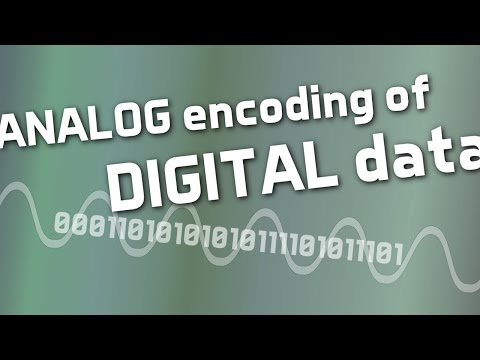 Analog Encoding of Digital Data
