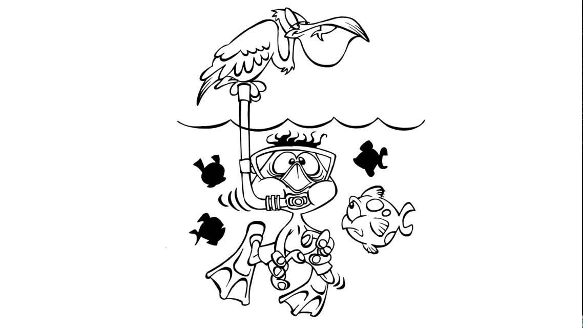 Comment dessiner un plongeur youtube - Dessin plongeur ...