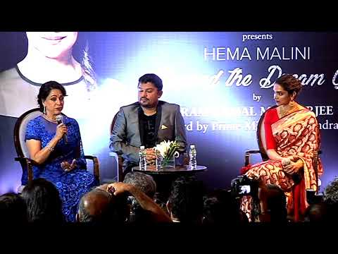 UNCUT | Hema Malini - Beyond The Dream Girl | Book Launch By Deepika Padukone | Full Event