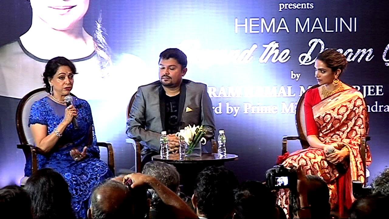 UNCUT | Hema Malini - Beyond The Dream Girl | Book Launch By Deepika Padukone | Full Event
