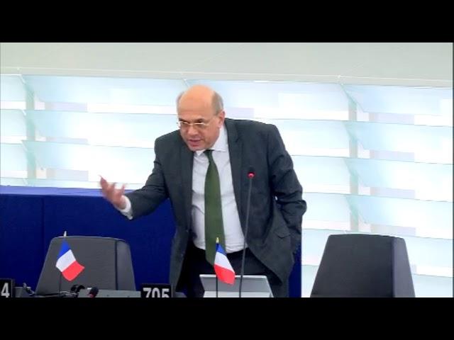 Jean-Luc Schaffhauser sur l'instrument de financement de la coopération au développement
