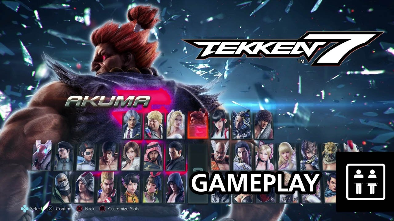 Tekken 7 - PS4 Gameplay - YouTube