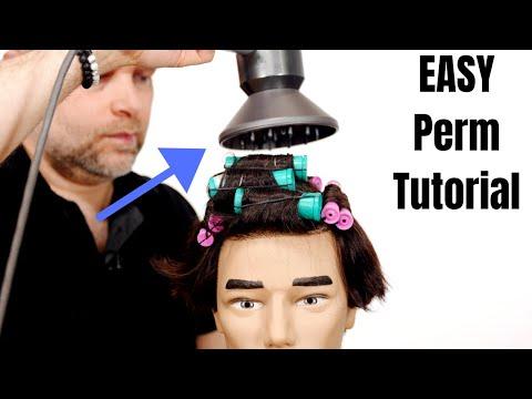 TikTok Perm Hair Tutorial - TheSalonGuy