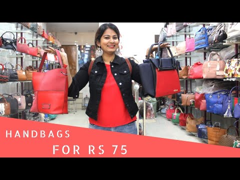 Wholesale Bags Market In New Delhi | Nabi Karim | Shopping in Delhi | DesiGirl Traveller