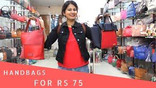 Wholesale Bags Market In New Delhi | Nabi Karim | Shopping in Delhi | DesiGirl Traveller