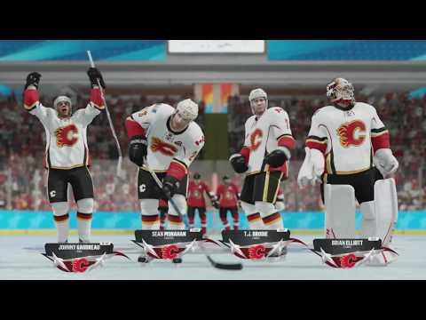 NHL 18 Beta - Calgary Flames v Ottawa Senators (NHL Threes)