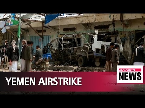 Saudi-led airstrike kills 29 children on school trip in Yemen