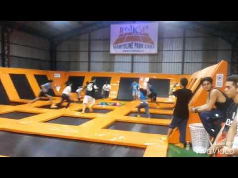 trampoline park chile open gym 1 youtube. Black Bedroom Furniture Sets. Home Design Ideas