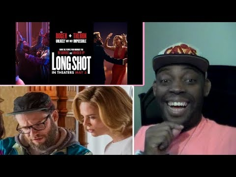 LONG SHOT Official Trailer (2019) Charlize Theron, Seth Rogen Movie REACTION!!!