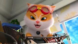 Большой кошачий побег (2018)— Русский трейлер