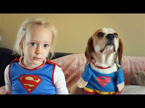Baby and dog show love for one another | Charlie The Beagle and Laura Olivia compilation