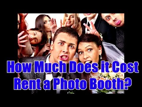 How Much for a photo booth rental