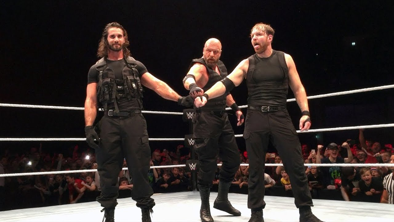 Download Triple H Joins The Shield - WWE Live Event Glasgow 2017| Info WWE3