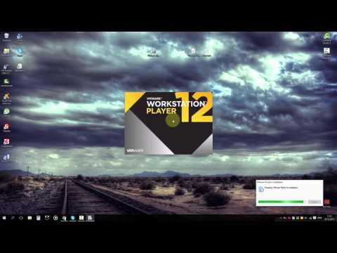 Как установить виртуальную машину VMware Workstation 12 Player