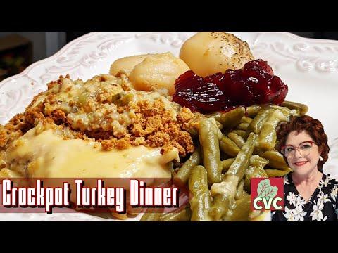 Turkey Dinner In A Crock Pot, A Short Cut For A Weeknight Dinner