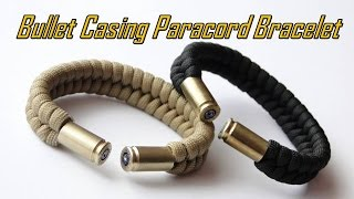 How to Make a Bullet Casing Paracord Bracelet- Fishtail Knot
