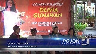 """Gambar cover Olivia Gunawan, Dara Banyuwangi Sabet Juara Dalam Ajang """"Miss Tourism And Culture Universe 2019"""""""