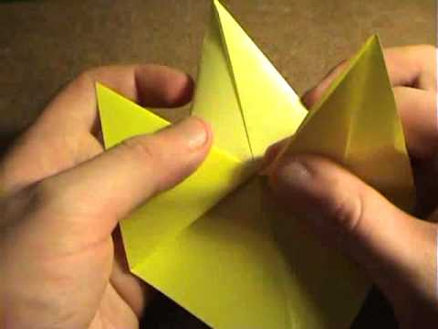 How To Make An Origami Butterfly Fish