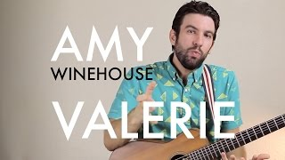[TBT#3] Amy Winehouse - Valerie (Guitar Lesson/Tutorial)