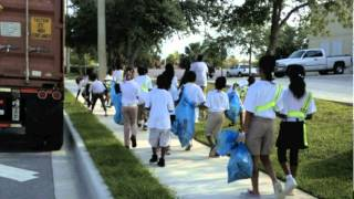 Mary McLeod Bethune Elementary Earth Day/Great American Cleanup