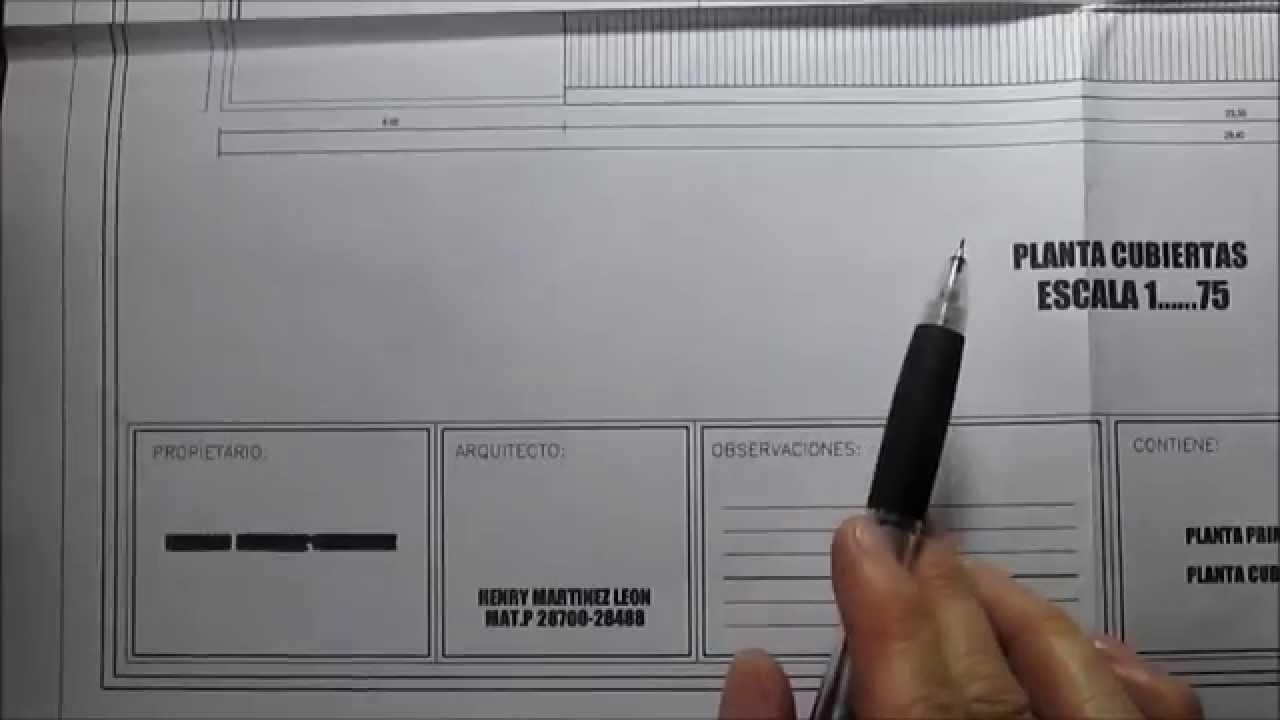 Que Es Un Plano Arquitectonico Of Partes Que Conforman Un Plano Youtube