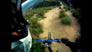 veterans park sylmar ca steep downhill mtb