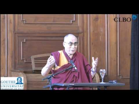 The Dalai Lama at Goethe University Frankfurt August 2011 (CLBO)