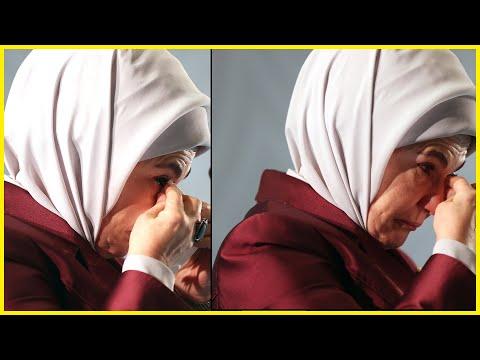 Gözyaşlarını Tutamayan Emine Erdoğan: Tarih Çocukların Tutuklandığını Yazacak