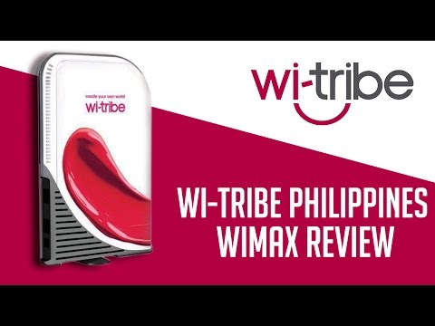 Wi-Tribe Philippines WIMAX Review