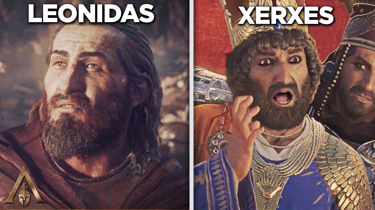 Download Leonidas Death vs Xerxes Death - Assassin's Creed Odyssey