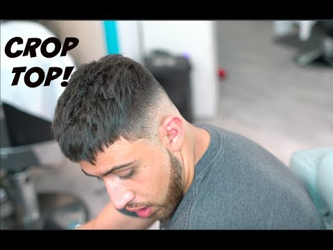 27d45f4c323e1 BARBER TUTORIAL  TEXTURED CROP TOP WITH DROP FADE! HD! - YouTube