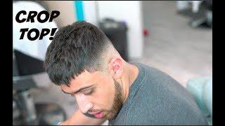 BARBER TUTORIAL: TEXTURED CROP TOP WITH DROP FADE! HD!