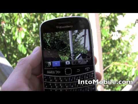 BlackBerry Bold 9900 camera walk through