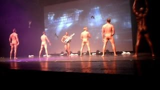 The Chippendales MEN IN BLACK