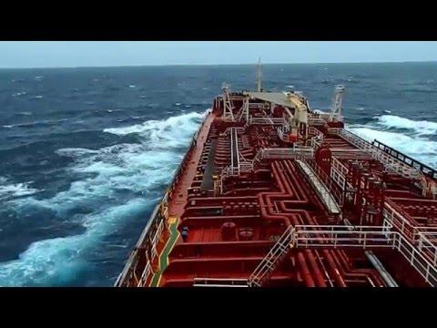 Indian Ocean storm