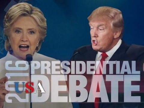 Clinton and Trump Clash in Crucial Final Debate | USA Election News 2016