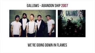 Gallows - Abandon Ship (with lyrics)