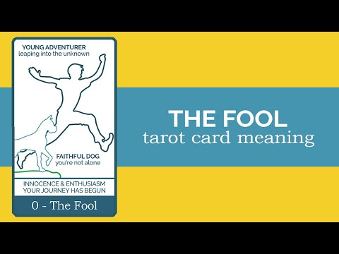 The Fool Tarot Card Reading And Meaning