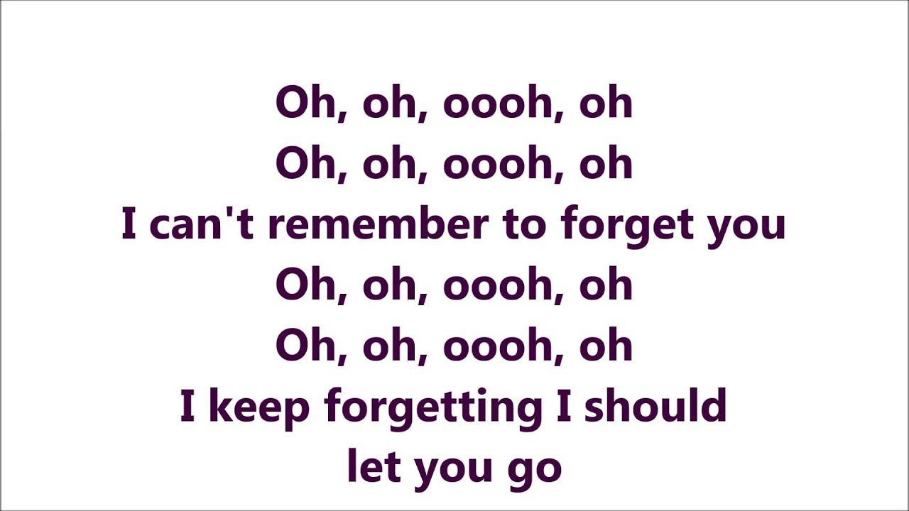 I Remember You Lyrics